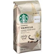 Starbucks Flavored Ground Coffee Vanilla 110 OZ