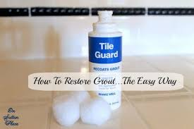 Homax Tile Guard Grout Sealer by How To Restore Grout The Easy Way On Sutton Place
