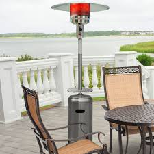 Fire Sense Deluxe Patio Heater Stainless Steel by Steel Umbrella 41 000 Btu Propane Patio Heater Products