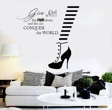 stickers citations chambre stickrs murales chambre romantique vinyl sticker citation de mode