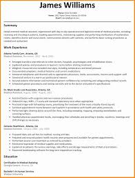 Medical Assistant Resume Example