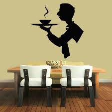 Chef Man Kitchen Theme by New Arrival Restaurant Cafe Vinyl Wall Decal Creative Man Chef