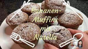 leckere bananen muffins mit nutella thermomix tm5 tm6