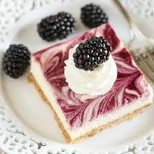 Pumpkin Swirl Cheesecake Bars by Blackberry Swirl Cheesecake Bars Live Well Bake Often