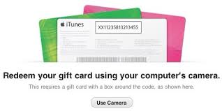 Redeem Your iTunes Gift Card Using The Camera Your Apple Device