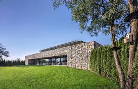 100 Contemporary Architecture House Gabion Walls And Their Role In