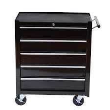 Tool Box Dresser Black by Amazon Com Homcom 24