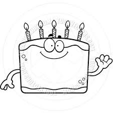 Birthday Line Clipart 1