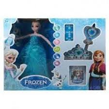Mattel Disney Frozen Fever Singing Elsa Doll
