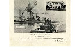 Where Did The Uss Maine Sank Map by Brooklyn Navy Yard Clio