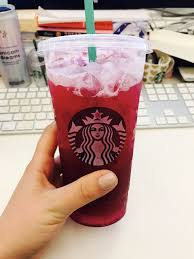 Raspberry Lemonade With Blue Powder On The Bottom And Pink Top