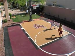 32 best backyard sport court images on backyard sports