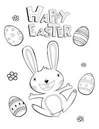 20 Printable Easter Themed Coloring Pages For Kids