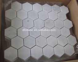 Carrara Marble Tile 12x12 by Big Hexagon Bianco White Carrara Marble Mosaic Tile 12x12 Buy
