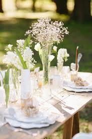 Elegant Rustic Wedding Tablescape