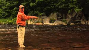 Sink Tip Fly Line Attachment by Streamer Fishing For Trout On A Sink Tip Line And Swinging Tactics