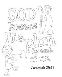 Jeremiah 29 Colouring Pages