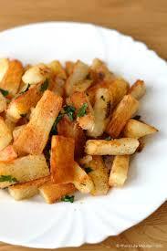 cuisiner le manioc frites de manioc à la poêle les gourmandises de léa