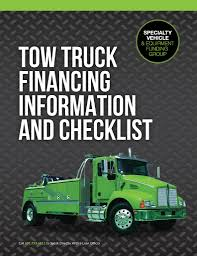 Tow Truck Finance Checklist Download (PDF) - Eastern Funding Leasefancing For Tow Trucks Fleetway Capital Corp Fancing Wrecker Capitol 2018 New Freightliner M2 106 Rollback Truck Extended Cab At Finance 360 Equipment Cstruction Towing Service In Melbourne And Geelong Western General Bodyworks Deep South Sales Used Box Loganville Ga Dealer Commercial Review From Don Pennsylvania Truck Fancing Youtube Jerrdan Cabover Xlp Carrier Wreckers Carriers 2008 4door Dodge Ram 4500 For Sale