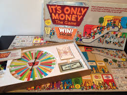 Its Only Money By ESM Marketing 1987 Vintage 1980s