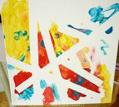 Kids Art 101 Using Tape To Create
