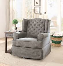 Hinreisend Swivel Rocking Chairs For Living Room Rocker ...