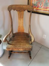 Antique Wood Rocking Chair Vintage Used Antique Rocking Chairs For Sale Chairish Learn To Identify Fniture Chair Styles 1890s Amish With Cane Back And Upholstered Seat Fding The Value Of A Murphy Thriftyfun Stickley Arts Crafts Mission Style Oak Rocker Murphys Rocking Chairgrandparents Had One I Casual Ding Brown Cushion Wood Metal Rolling Caster Serta Upholstery Monaco Wing Rotmans Hay Llrocking Chairnordic Style Design Chair How Replace Leather In An Everyday Solid Oak Carver Ding Room Hall Bedroom Vintage With Arms Carryduff Belfast Gumtree