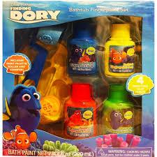 Crayola Bathtub Crayons Ingredients by Amazon Com Finding Dory Bathtub Finger Paint Set Sports U0026 Outdoors