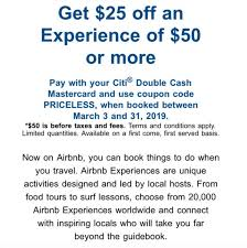 Get $25 Off $50 Airbnb Experiences With Mastercard (promo ...