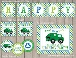 Garage Truck Party Package / Garbage Birthday Pack / Garbage Truck ... Garbage Trucks And Street Sweepers Birthday Truck Rileys 4th Cake Kids Pinterest Homemade Ideas Liviroom Decors Monster Party Supplies Targettrash Suppliesgame Dump Truck Theme Party 14 2012 In Dump Favor Bags Birthday Signgarbage Custom Made By Cstruction Favorsdump Craycstruction Boy Mama Teacher A Trtashy Celebration A Seaworld Mommy Trash Photo 1 Of 17 Catch My The Mamminas