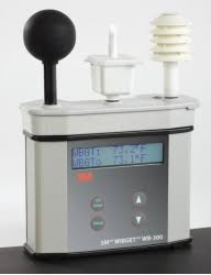 wbgt heat stress monitor for bulb globe temperature 3m