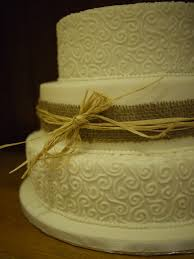The 3 Tiers Were Then Stacked Using Dowling And Joins Covered Fondant That Had Been Pushed Into A Silicone Mould To Make String Of Beads