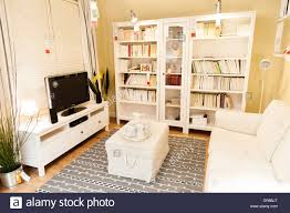 Living Room Furniture In Ikea London England UK Stock Photo