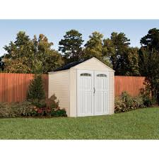 Suncast 7 X 7 Alpine Shed by Rubbermaid 7x7 Feet X Large 325 Cubic Feet Outdoor Storage Shed