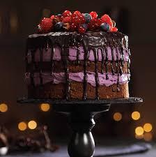 high protein drip cake