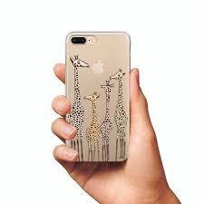 Cute giraffes case iPhone 8 case iPhone 8 Plus iPhone X case