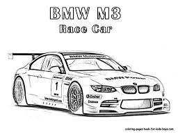 Cool Car Coloring Pages Nascar Free Cars Ren