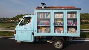 100 Smallest Truck Is This Italys Smallest Library BBC Reel