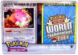 pokemon world chionships deck 2008 paul atanassons blissey