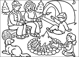 Full Size Of Coloring Pagecamp Pages Page Camp Family Enjoy Summer