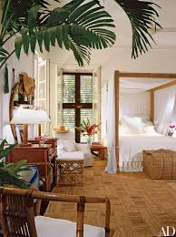 Take A Look Inside Ralph Laurens Two House Retreat In Jamaica Tropical DecorTropical Bedroom