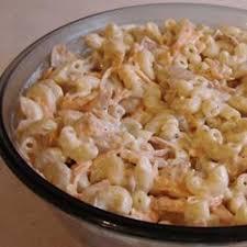 salade de macaroni au thon recettes allrecipes québec