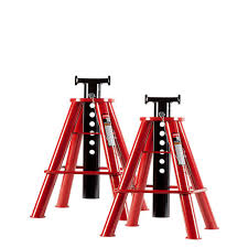 Floor Joist Jack Menards by Husky 3 Ton Jack Stand Pair Mpl4124 Husky The Home Depot