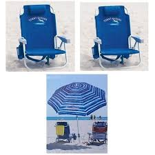 Tommy Bahama Backpack Beach Chair Dimensions by 2 Tommy Bahama Backpack Cooler Beach Chairs U0026 1 Beach Umbrella 2