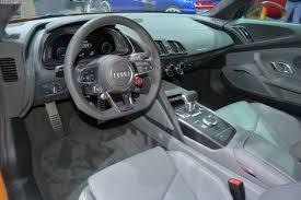 2015 Geneva Motor Show Audi R8 V10 e tron and LMS