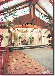 Perfectly Reflecting The Feeling Of Southwest This Adobe Mission Style Chapel Complete With Bell Tower Is Las Vegas Largest Wedding