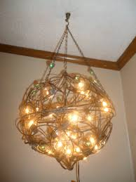 Chandelier Ceiling Fan Retractable Blades Rustic Wire Basket And Wood Lowes Lighting For Dining Room Tree Underwood Park