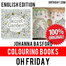100 AUTHENTICEnglish VersionJohanna BasfordSecret Garden