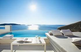 chambre d hotel avec piscine privative location villa mykonos villas a mikonos avec piscine privee