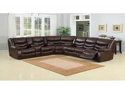 Value City Red Sectional Sofa by Furniture Best Design Of Brown Leather Sectional For Modern